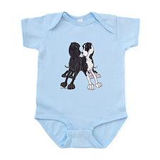 NBlk N Mtl Lean Infant Bodysuit