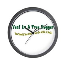 Cute The comical conservative Wall Clock