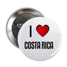 "I LOVE COSTA RICA 2.25"" Button (10 pack)"