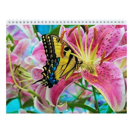 floral Wall Calendar