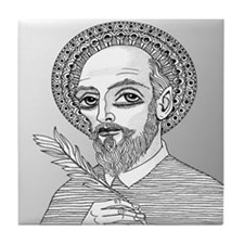 St. Francis de Sales Tile Coaster