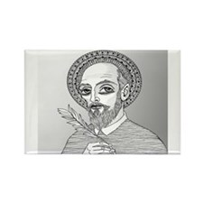 St. Francis de Sales Rectangle Magnet (10 pack)