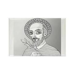 St. Francis de Sales Rectangle Magnet (10 pack)