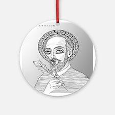 St. Francis de Sales Ornament (Round)