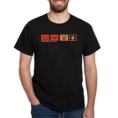 Dash Lights (black t-shirt)