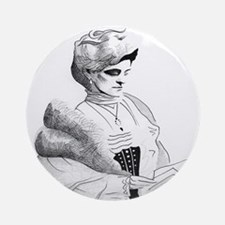 Edith Wharton Ornament (Round)