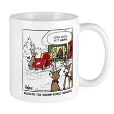 Rudolph the Brown-nosed Reind Mug