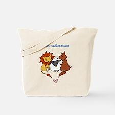 Team Switzerland (Animals) Tote Bag