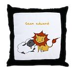 Team Edward (Animals) Throw Pillow
