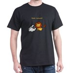 Team Edward (Animals) Dark T-Shirt