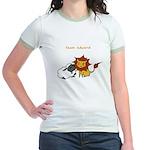 Team Edward (Animals) Jr. Ringer T-Shirt