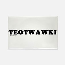 TEOTWAWKI Rectangle Magnet