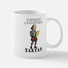 Shakespeare Tartan Mug