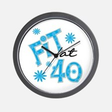 Fit at 40 Wall Clock