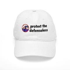 Protect the defenseless. Baseball Cap