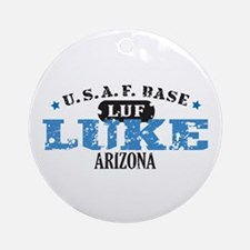 Luke Air Force Base Ornament (Round)