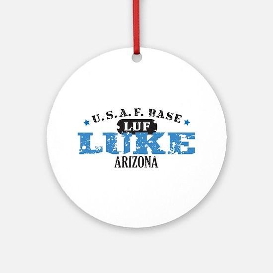 Luke Air Force Base Ornament (Round)