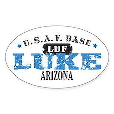 Luke Air Force Base Oval Decal