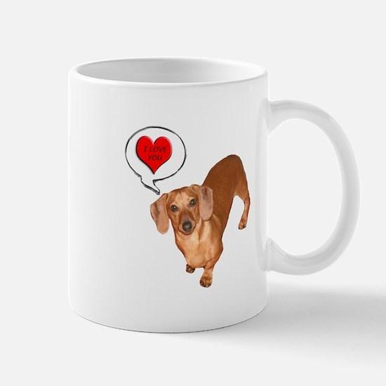 Love You Mug