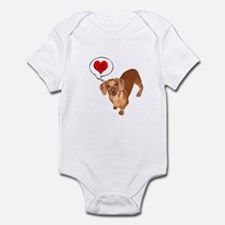 Love You Infant Bodysuit