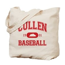 Cullen Baseball (Red) Tote Bag
