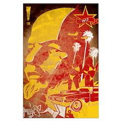 Miami Lenin 23x35 Poster