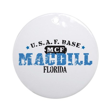 MacDill Air Force Base Ornament (Round)