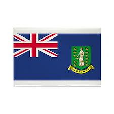 British Virgin Islands Rectangle Magnet