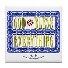 GOD Bless - Tile Coaster