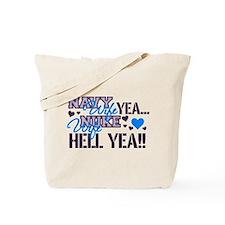 Funny Navy nuke Tote Bag