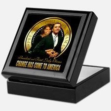Change - Inauguration Keepsake Box