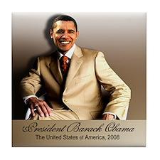 The President (classic) Tile Coaster