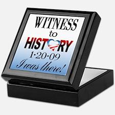 Witness To History Keepsake Box