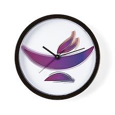 UU Painted Chalice Wall Clock
