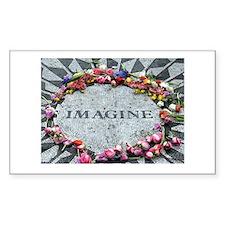Imagine Rectangle Decal