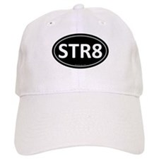 STR8 Black Euro Oval Baseball Baseball Cap