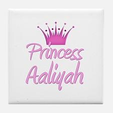 Princess Aaliyah Tile Coaster