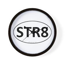 STR8 Euro Oval Wall Clock