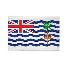 British Indian Ocean Territor Rectangle Magnet