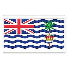 British Indian Ocean Territor Rectangle Decal