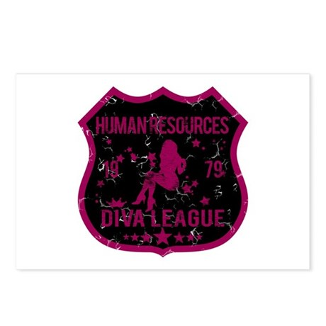 Human Resources Diva League Postcards (Package of