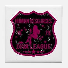 Human Resources Diva League Tile Coaster