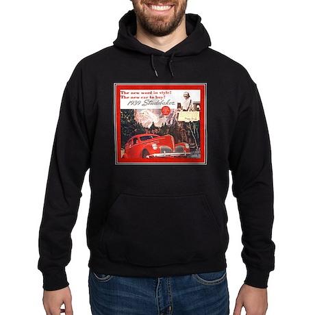"""""""1939 Studebaker Ad"""" Hoodie (dark)"""
