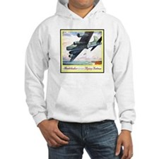 """""""Flying Fortress Engines Ad"""" Hoodie"""