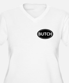 BUTCH Black Euro Oval T-Shirt