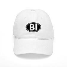 BI Black Euro Oval Baseball Cap