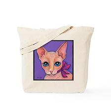 Sphinx Hairless Cat Tote Bag