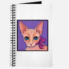 Sphinx Hairless Cat Journal