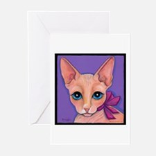 Sphinx Hairless Cat Greeting Cards (Pk of 10)