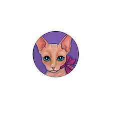 Sphinx Hairless Cat Mini Button (100 pack)